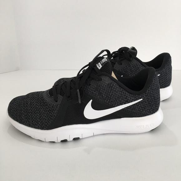 Women's Nike Flex Trainer 8 Wide AJ8168-010 Size 7